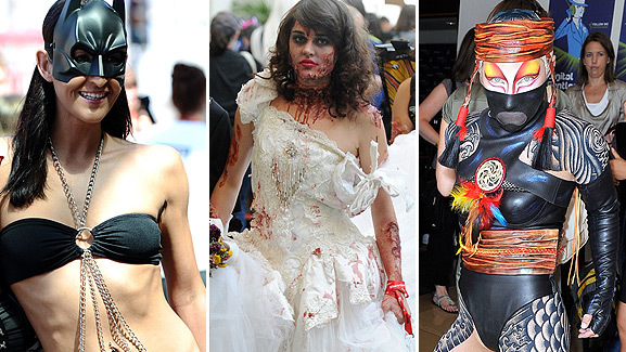 Photos: Crazy Costumes of Comic-Con -- Day 1!