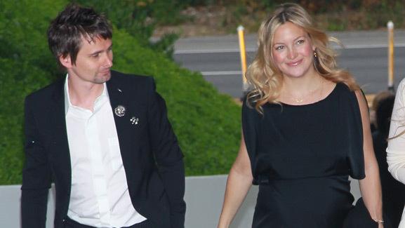 Kate Hudson & Matt Bellamy Name Newborn Son Bingham