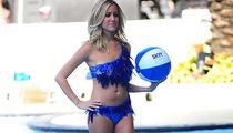 Kristin Cavallari Hits the Catwalk In Glass Bikini