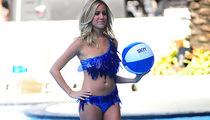 Kristin Cavallari Hits the Catwalk In Glass Bikini