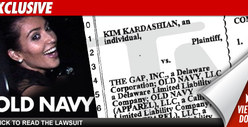 Kim K Suing Old Navy -- You Can&#039;t COPY Me! [DOCS]