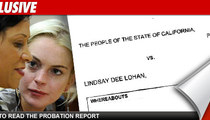 Probation Officer -- Out to Get Lindsay Lohan?