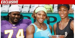 Vikings Star: I've Been Training w/ the Williams Sisters!