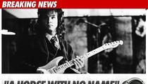 'America' Singer Dan Peek -- Dead at 60