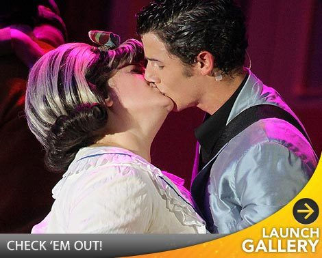 Nick Jonas Kisses Celeb 20 Years Older Than Him!