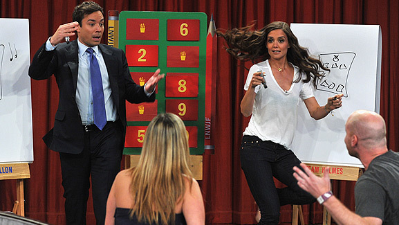 Video: Katie Holmes Fails at Pictionary