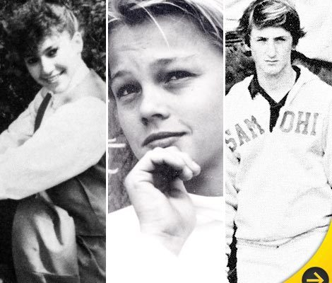 New Celebrity Yearbook Photos: J.Lo, Leo, Penn & More!