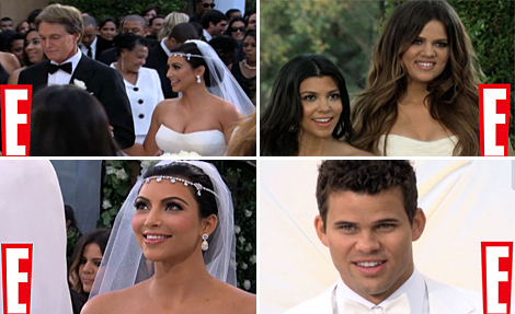 Inside Kim Kardashian's Wedding -- New Photos and Video!