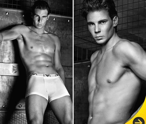 Rafael Nadal Strips Down for New Armani Underwear Ads