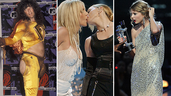 The MTV Video Music Awards: 20 Wild Show Moments!