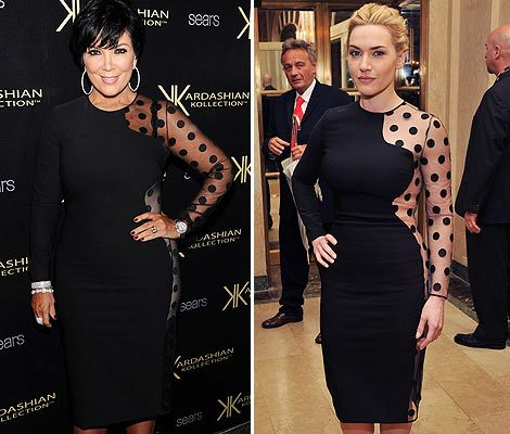 Seeing Double: Kate Winslet & Kris Jenner