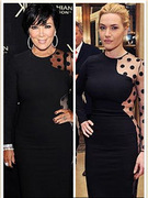 Seeing Double: Kate Winslet &amp; Kris Jenner