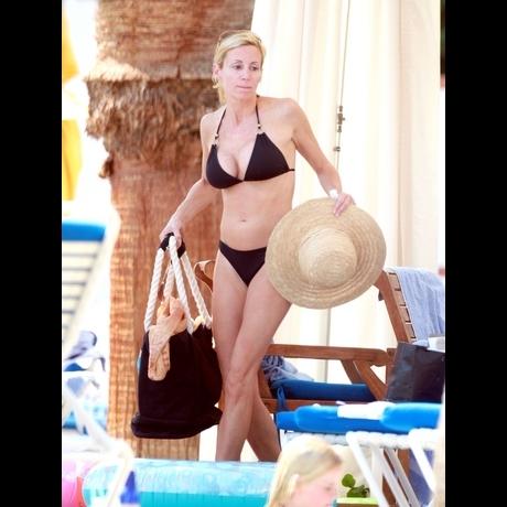Camille Grammer's Bikini Vacation Shots