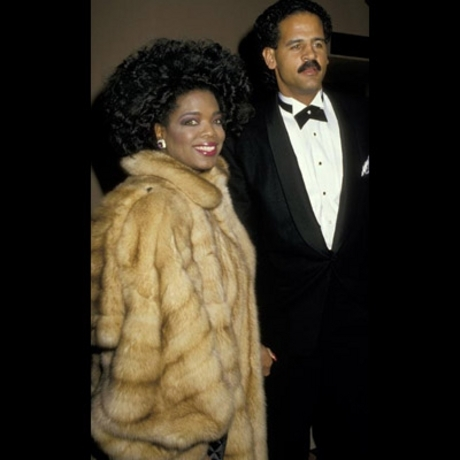 Oprah and Stedman -- the look of love. 