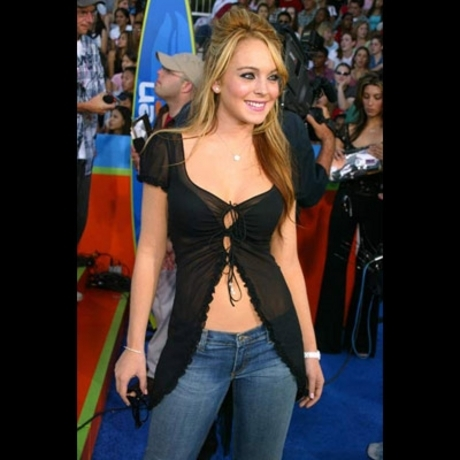 Lindsay Lohan -- Pretty Pictures&#160;