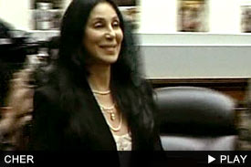 Cher Goes to Washington: Click to Watch!