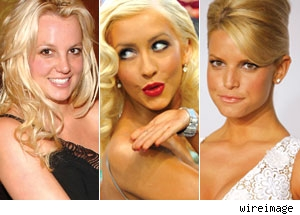 Britney, Christina and Jessica