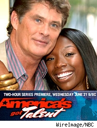 David Hasselhoff and Brandy serve as judges on NBC's