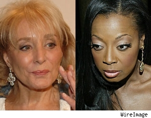Barbara Walters & Star Jones