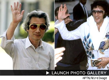 Japan's Prime Minister and Elvis