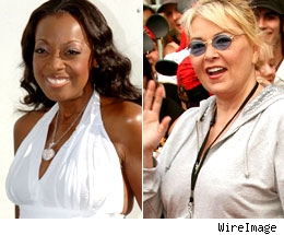 Star Jones and Roseanne