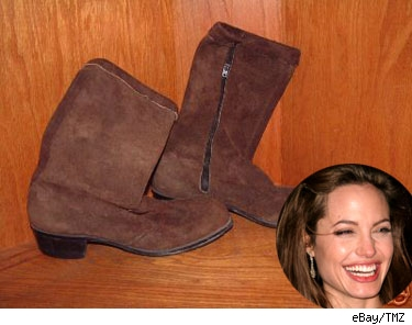 Angelina Jolie's boots