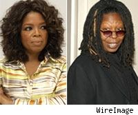 Oprah Winfrey, Whoopi Goldberg