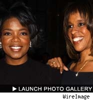 Oprah and Gayle: click to launch the photo gallery!