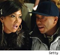 Kimora Lee Simmons and Russell Simmons