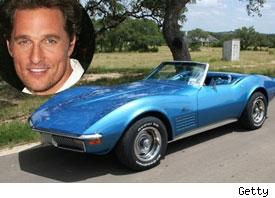 Matthew McConaughey / Corvette