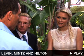 Harvey Levin, Elliot Mintz, and Paris Hilton