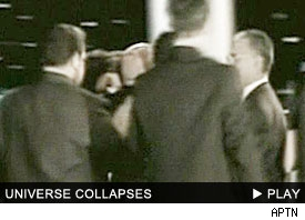 Miss Universe Collapses: Click to watch