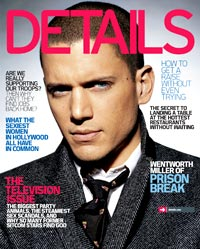 August cover of Details magazine