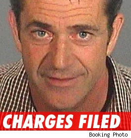 Gibson: Charges filed