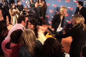 Lindsay lohan greets Perez Hilton