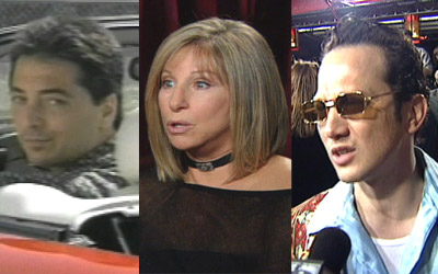 Scott Baio, Barbra Streisand and Rob Schneider