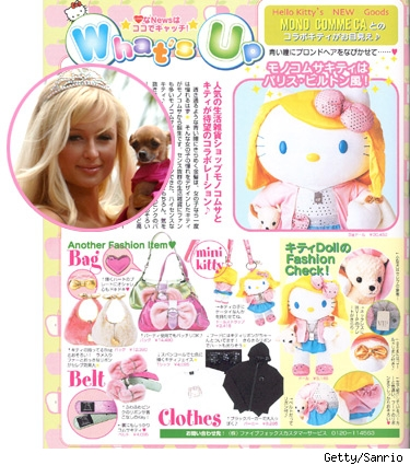 Paris HiIton-inspired Hello Kitty Doll