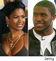 Nia Long and Reggie Bush