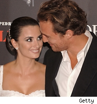 Penelope Cruz and Matthew McConaughey