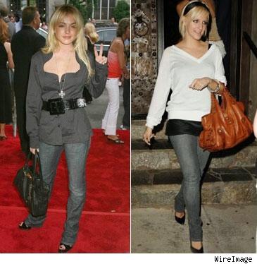 lindsay lohan skinny pictures. Lindsay Lohan and Ashlee