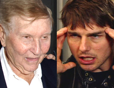 Sumner Redstone, Tom Cruise