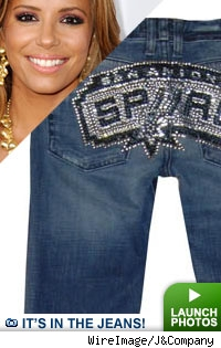 Celebrity Bedazzle Jeans