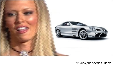 Jenna Jameson and Mercedes-Benzcomposite