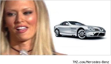 Jenna Jameson and Mercedes-Benzcomposite