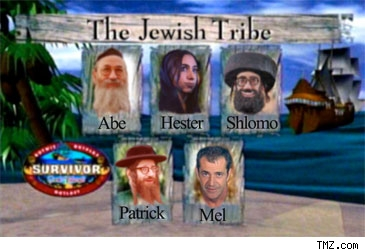 Parody of a Jewish Tribe on Survivor