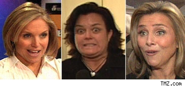 Katie Couric, Meredith Viera, Rosie O'Donnell