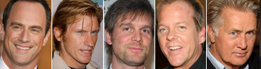 Christopher Meloni, Denis Leary, Peter Krause, Kiefer Sutherland, Martin Sheen