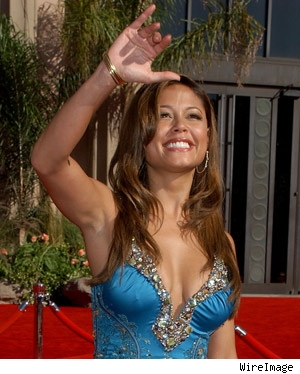 Vanessa Minnillo at the Emmys