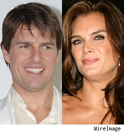 Tom Cruise, Brooke Shields