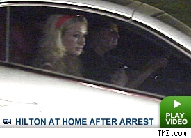 Paris Hilton after her arrest: Click to watch